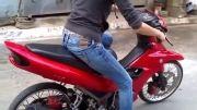 موتور سواری خانم ها!!!