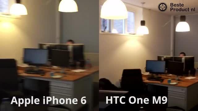 HTC One M9 vs Apple iPhone 6_Camera Comparison
