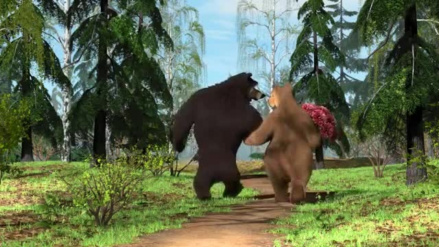 کارتون باحال و دیدنی ماشا و خرس گنده