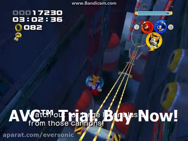 Sonic Heroes - Final Fortress Stage 14 - Team Sonic