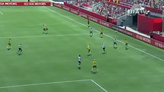 بازی : آلمان 4 - 1 سوئد (جام جهانی زنان 2015 کانادا)