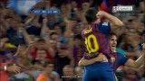 گل سوم بارسا به رئال در سوپر کاپ اسپانیا توسط لیونل مسی - ال کلاسیکوی برگشت