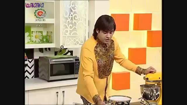 کاپ کیک انبه_آموزش آشپزی+فیلم کلیپ گلچین صفاسا