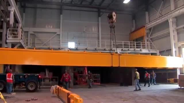 فیلم مراحل نصب و مونتاژ و تست و بازرسی جرثقیل سقفی