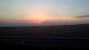 صحنه ای از غروب آفتاب '''''زیبا