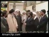 بازدید امام خامنه ای از بیت امام خمینی در خمین