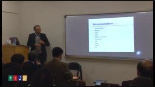 کلاس آموزشی روش های ارتباط مؤثر دکتر ابوالقاسمی بخش اول