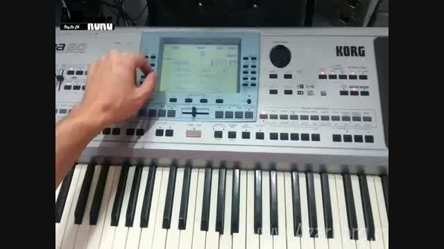 کیبورد Korg Pa50 با ال سی دی لمسی