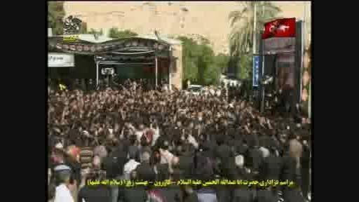 سینه زنی در روز تاسوعای کازرون(شبکه فارس)
