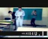 رقص در کلاس درس پیش استاد