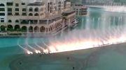 برج دبی/رقص اب و نور