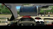 بازی city car driving simulator