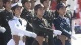 رژه به این میگن! رژه زنان ارتش چین!