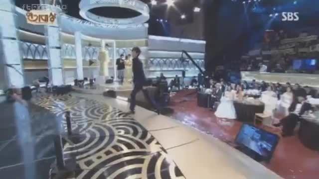 لی مین هو بهترین بازیگر مرد درجشنوارهsbs drama2013