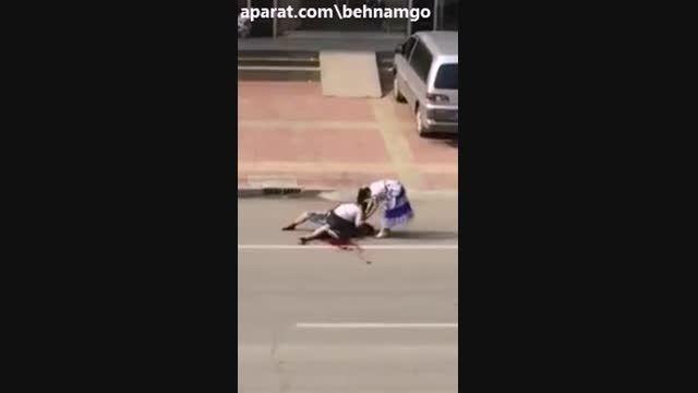 قتل عجیب با چاقو در خیابان +18