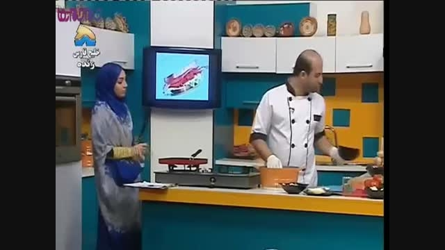 همبرگر پنیری_آموزش آشپزی+فیلم کلیپ گلچین صفاسا