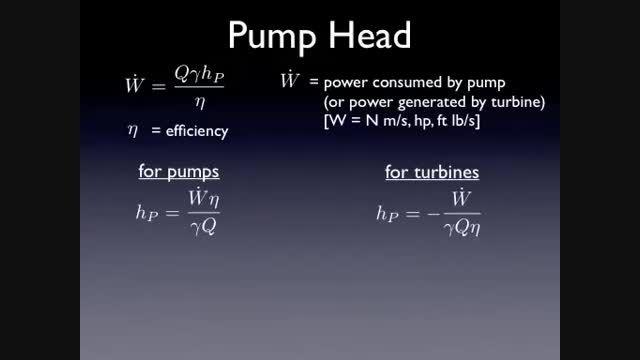 مکانیک سیالات 16 - قانون بقای انرژی