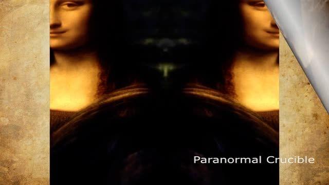 راز نقاشی مونالیزا کشف شد ! (تصویر بیگانه پنهان شده)