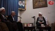 کلیپ دیدار سعید جلیلی با آیت الله نوری همدانی
