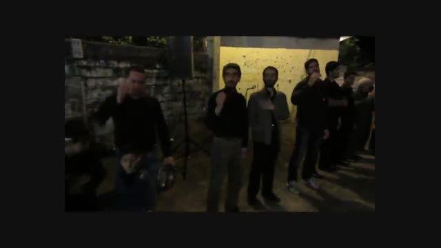عزاداری هیئت عزاداران مزرک در مسجد قائم آل محمد (عج)