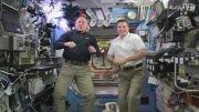 سال نو میلادی مبارک - ایستگاه فضایی بین المللی