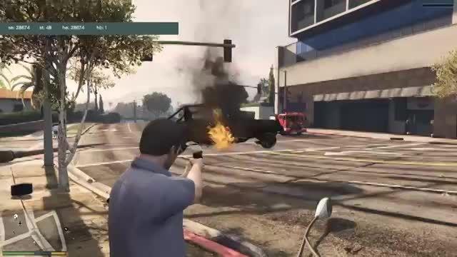 مد اسلحه ی جاذبه برای GTA V