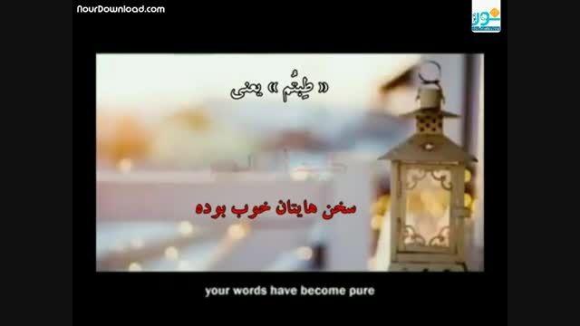 کلیپ سخنرانی زیبای «ای پروردگار مهربان» از شیخ مغامسی