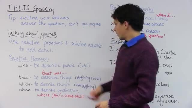 روش سری در موفقیت در آزمون IELTS Speaking