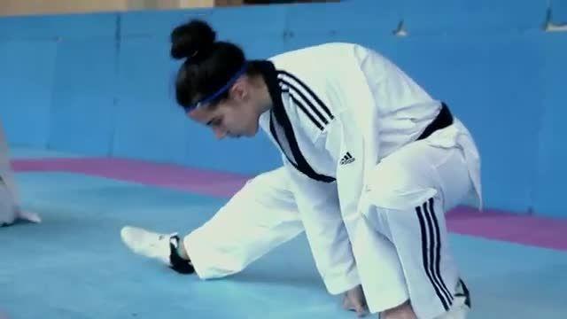 Taekwondo Training with Spain's Calvo Sisters   The Mak