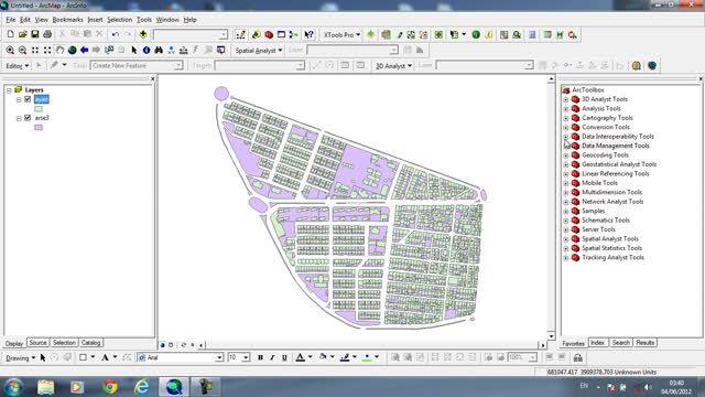روش ایجاد نقشه تراکم در GIS
