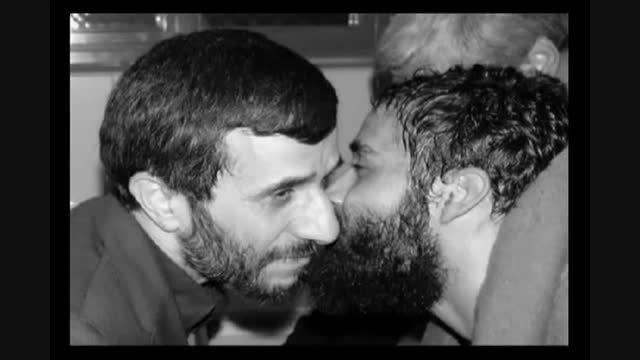 دعوای شدید احمدی نژاد و لاریجانی در مجلس