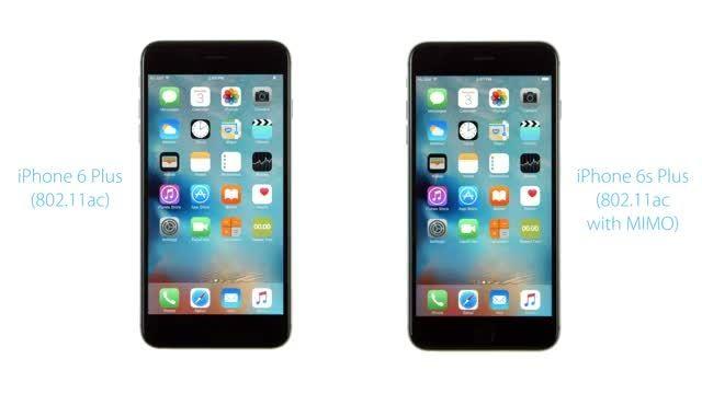 مقایسه ی سرعت wifi بین دو گوشی ایفون 6 پلاس و 6 اس پلاس