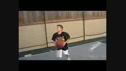 پسر نوجوان ورزشکار
