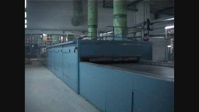ماشین آلات و خط تولید الیاف پلی استر تیپ پنبه