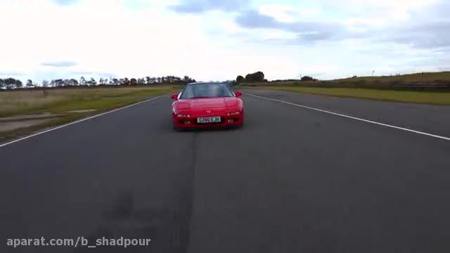 بررسی هوندا NSX سوپر اسپرت ژاپنی موتور وسط