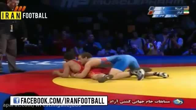 کشتی آزاد ایران -آمریکا 2014