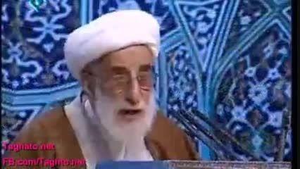 احمد جنتی-چه اشکال دارد مردم روزی یک وعده غذا بخورند؟