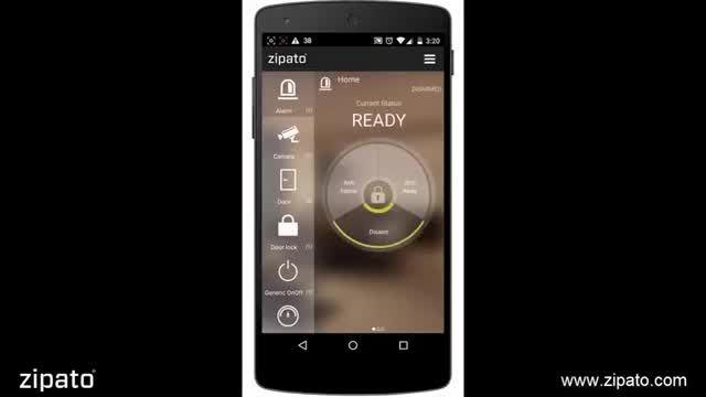 مروری بر اپلیکیشن موبایل خانه هوشمند پاردیک