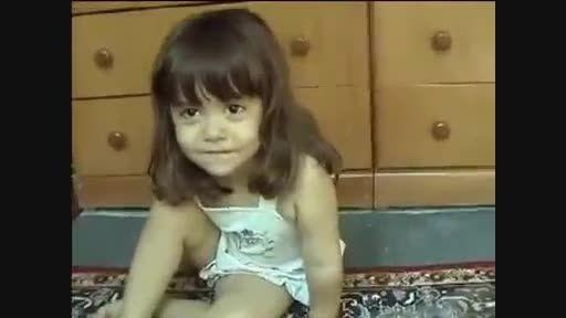 نقل یه فیلم ترسناک توسط دختر کوچولو