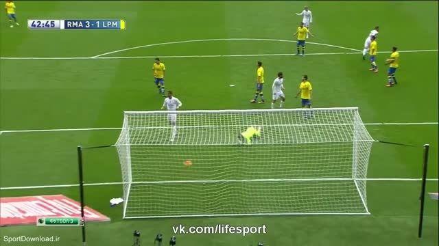 خلاصه بازی رئال مادرید 3-1 لاس پالماس
