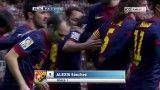 بارسلونا vs ختافه | 1 - 0 | گل سانچز