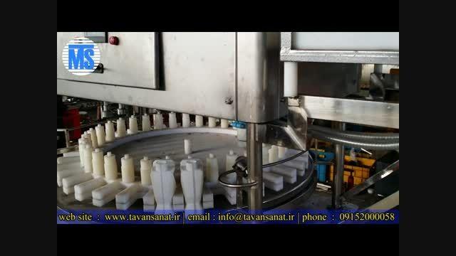 دستگاه پرکن و دربند گالن 2 لیتری اسید