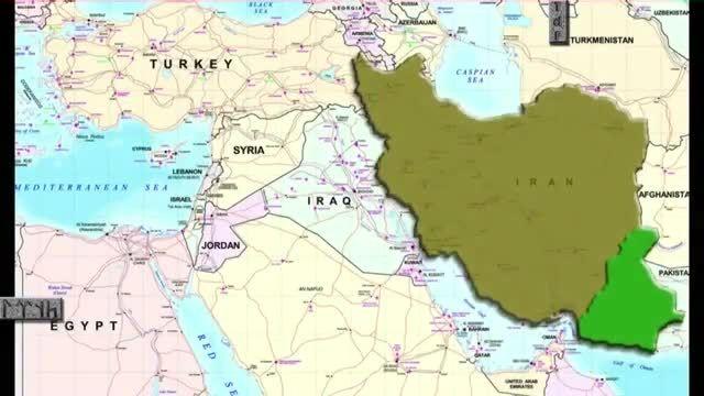 نقشه پان ترکها برای ایران