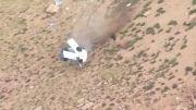سقوط میتسو لنسر به ته دره در مسابقات تپه نوردی