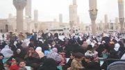 سفره های افطار در مسجد النبی-2