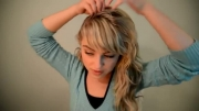 آموزش بستن موی السا 1 (تاج گذاری)