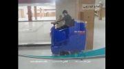 دستگاه اسکرابر باراننده| کف شور صنعتی