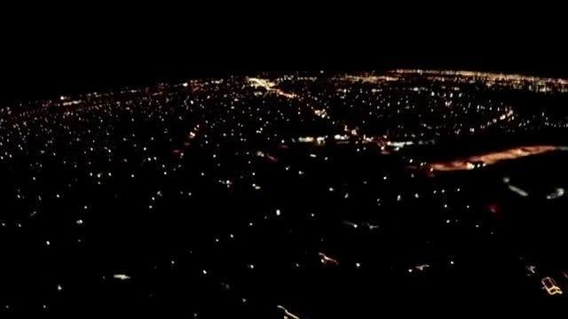 فیلمبرداری کوادکوپتر کنترلی در شب