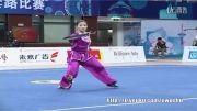 ووشو ، مسابقات داخلی چین ، فینال نن دائو ، لین فن ، مقام اول