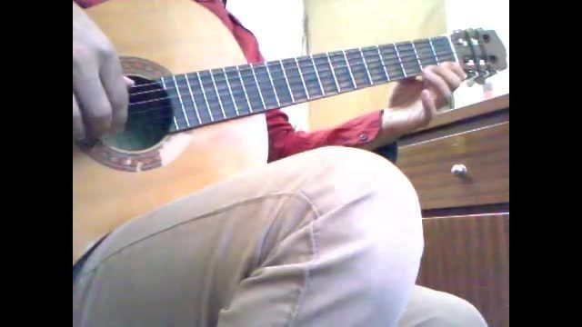 تمرین انگشت گذاری گیتار 2